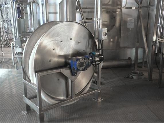 CIP reel - Tank cleaning Hose reel system