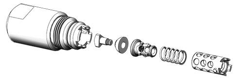 gen-3 - Drip Pro check valve for spray drying